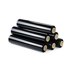 Folie stretch manuală neagră